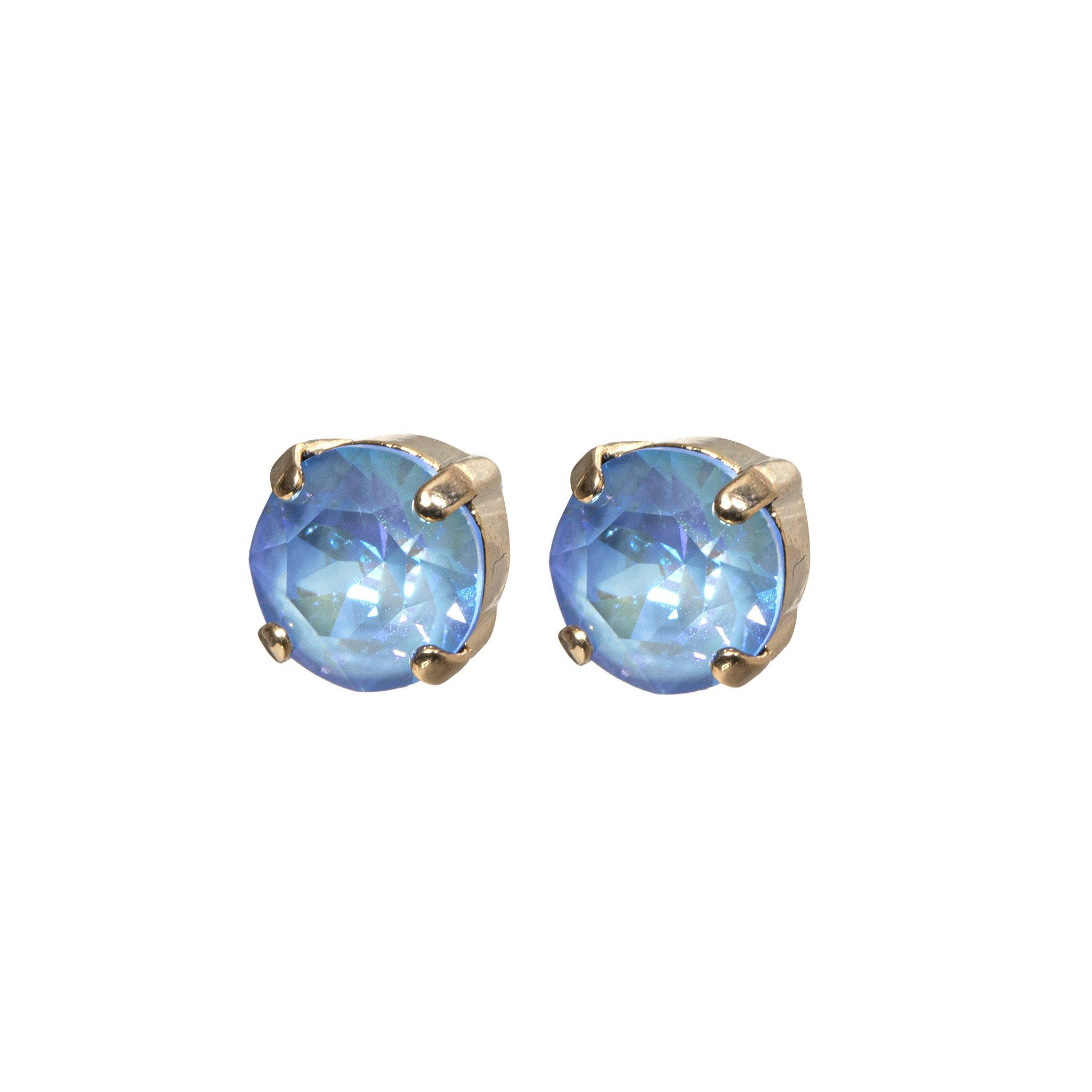 Splash Earrings - Light Blue