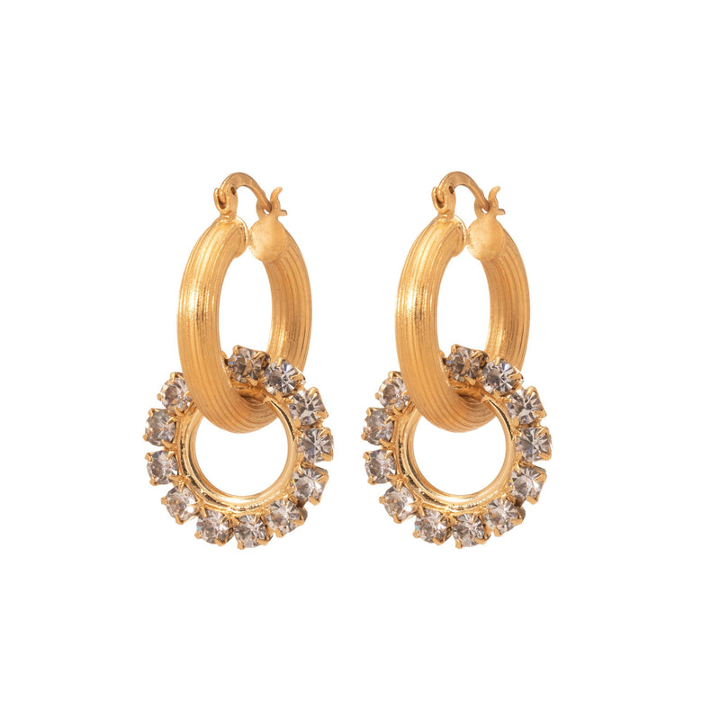 Coravana - Dreamer Hoop Earrings