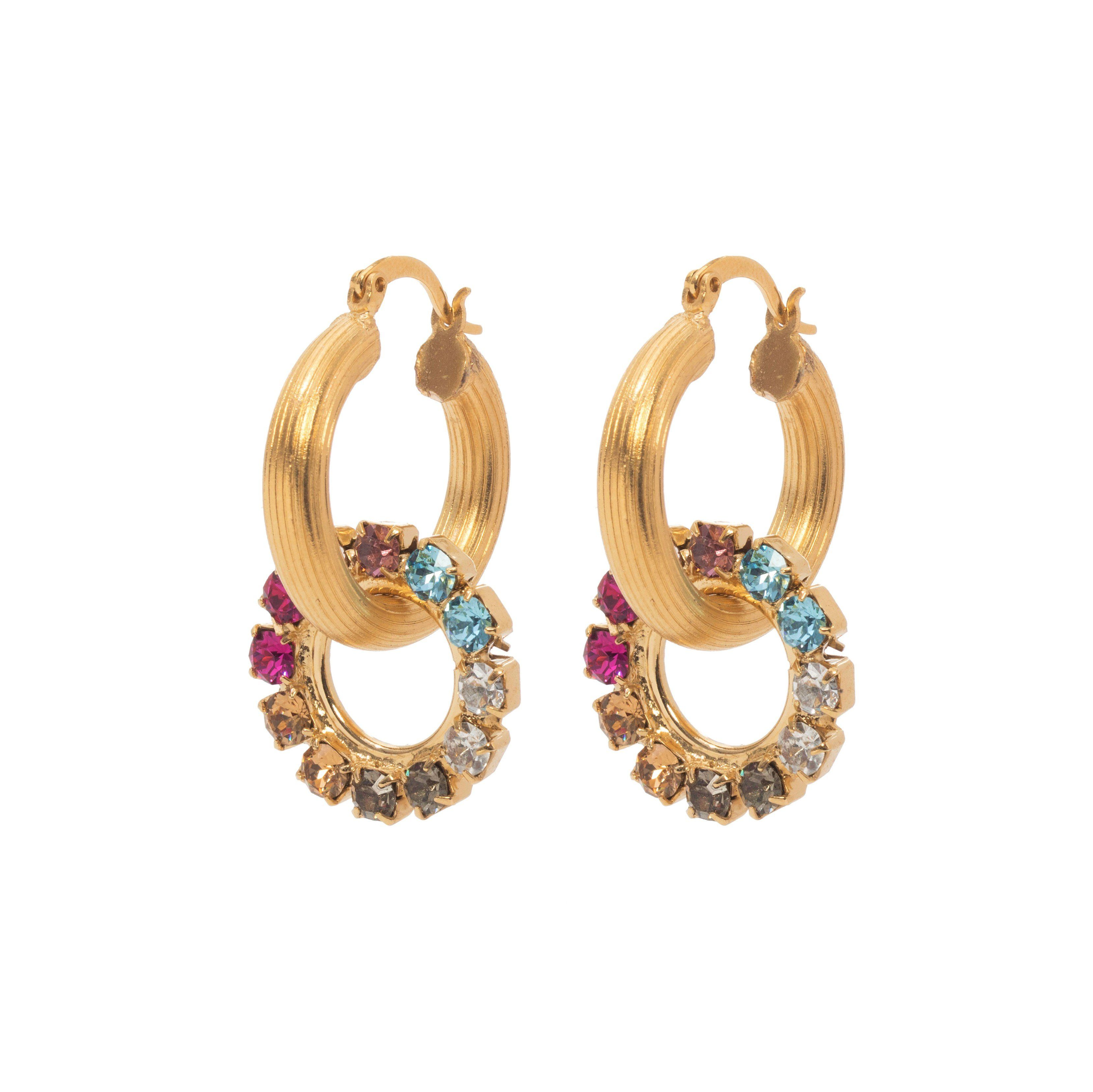 Dreamer Hoop Earrings - Color Mix