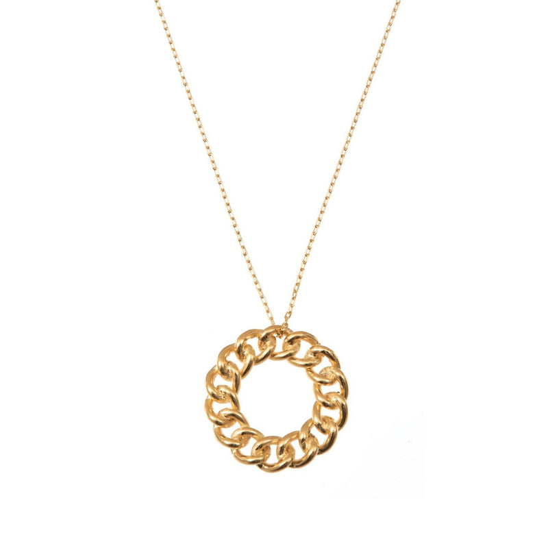 Coravana - Gold Loop Necklace