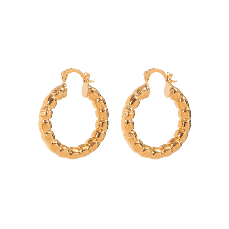 Coravana - Dusk Hoop Earrings