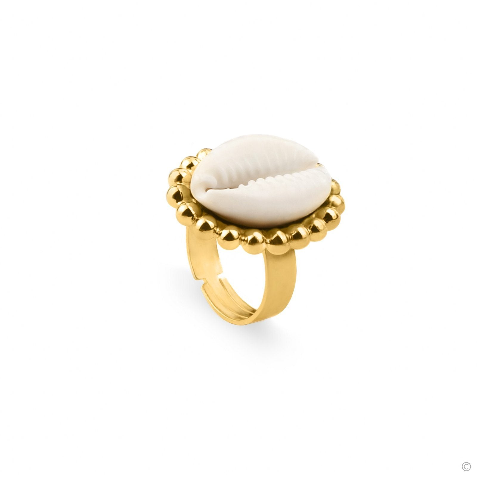 Pure Cowry Ring