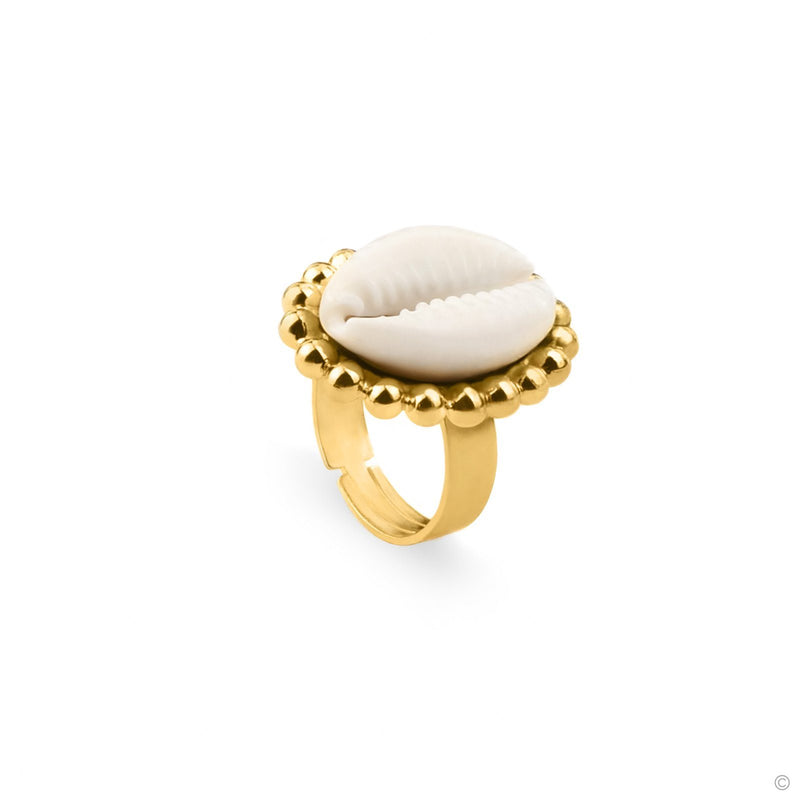 Coravana - Pure Cowry Ring