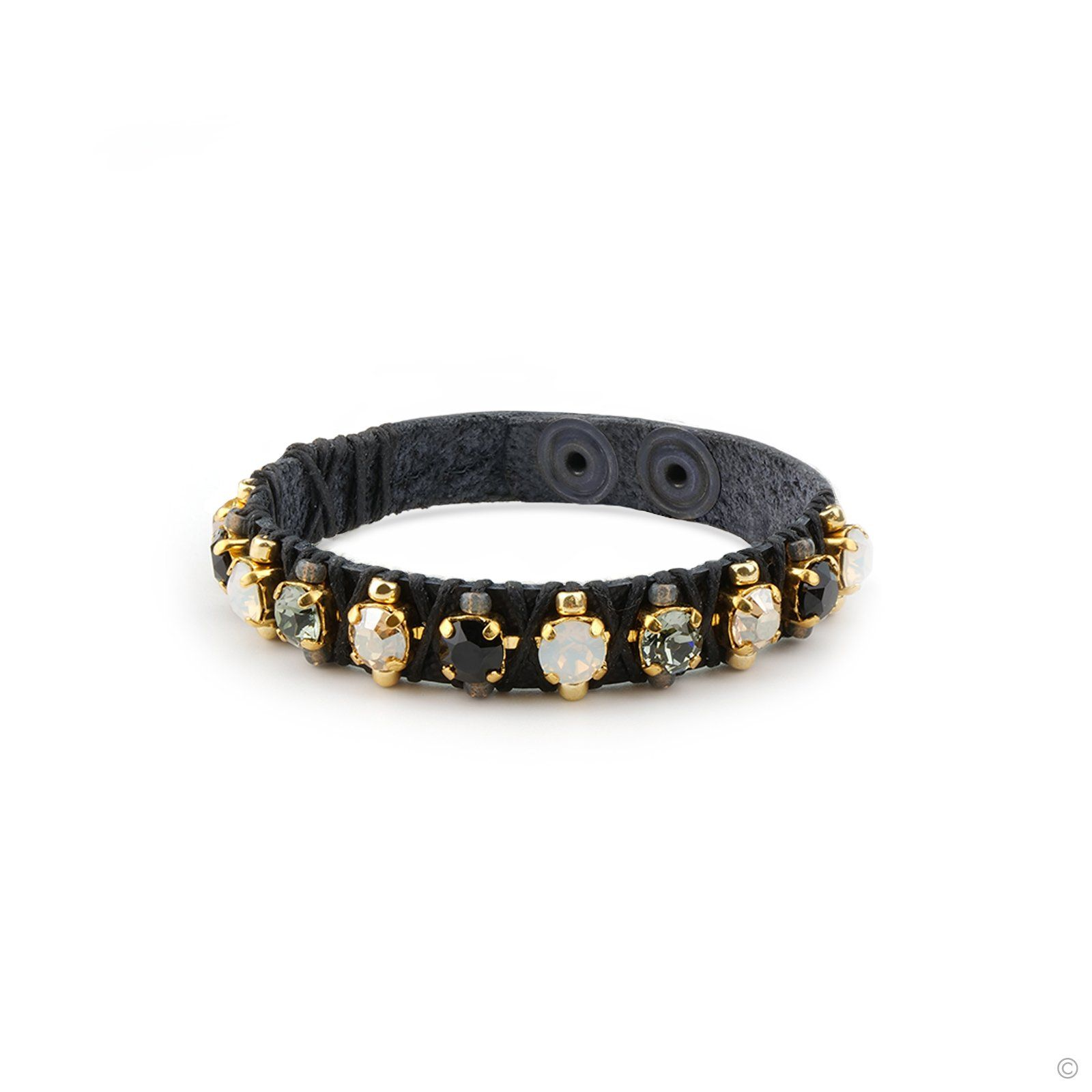 Glam Leather Bracelet