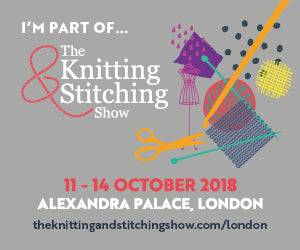 Tamsin Francesca Jewellery at the Knitting and Stitching Show Alexandra Palace 2018