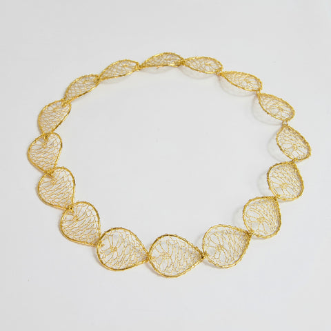 Élan Continous Link Necklace 18ct Gold Plated