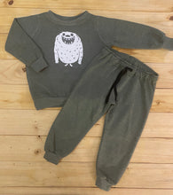 Load image into Gallery viewer, Boys Monster | Olive Green Sweater