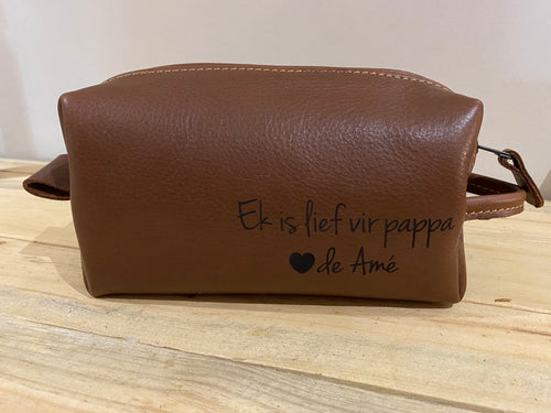 Toiletry Bag | Tan