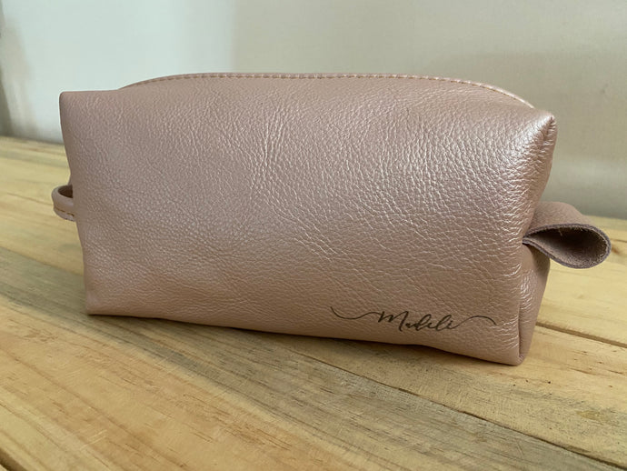 Toiletry Bag | Rose Gold