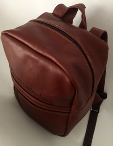 Leather Kids Backpack | Tan
