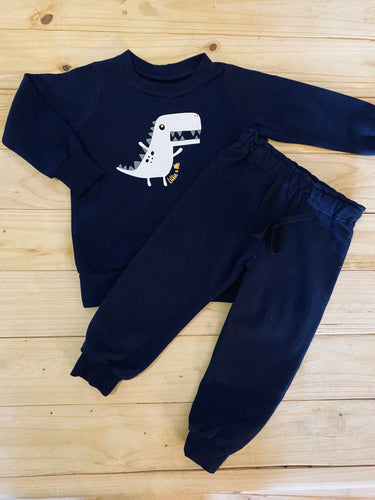 Boys Dino | Navy Set