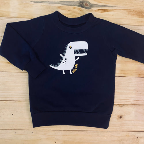 Boys Dino | Navy Sweater