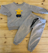 Load image into Gallery viewer, Boys Giraffe | Grey Set