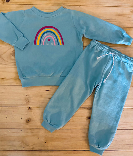 Girls Rainbow | Mint Set