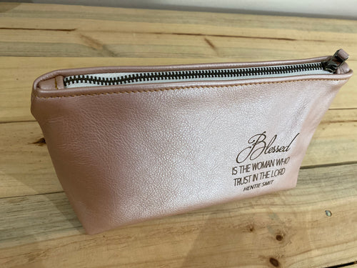 Make Up Bag | Rose Gold