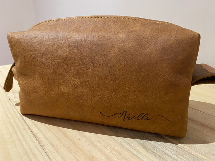 Toiletry Bag | Toffee