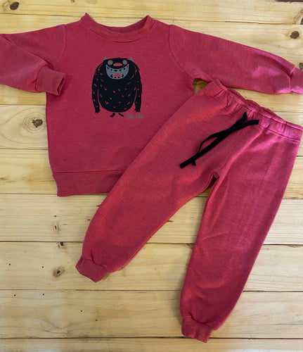 Boys Monster | Red Set
