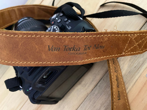 Leather Camera Straps | Toffee