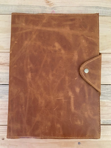 A5 Leather Diary Cover | Toffee