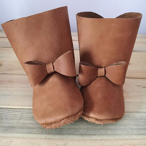 lillie and me baby shoes baby boots fudge