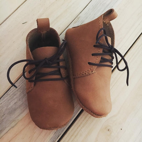 lillie and me leather baby shoes baby vellies fudge