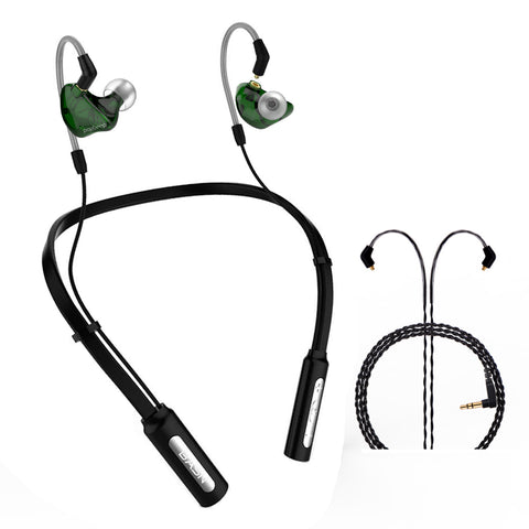 BASN Bluetooth Headphones 10H Playtime Wireless Headset(Green)