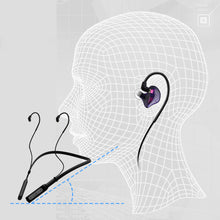 Load image into Gallery viewer, BASN 10H Playtime Bluetooth Headphones Wireless Headsets (Purple)