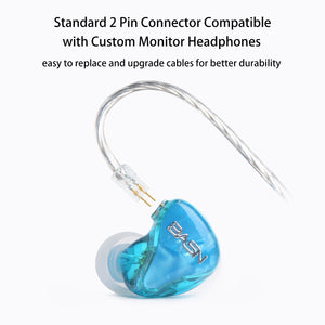 BASN Tempos Pro In Ear Monitors (Blue)