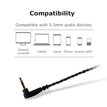 Load image into Gallery viewer,  basn mmcx headphone earphone detachable replaceable cable suitable for basn bsinger bmaster metalen shure se215 se315 se425 se535