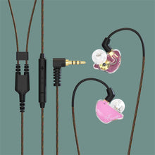 Load image into Gallery viewer, basn bsinger bmaster in ear monitors headphones noise isolation hifi earphones dual dynamic drivers balanced armature comfortable earbuds headsets for musicians singers drummers