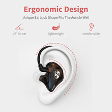 Load image into Gallery viewer, basn bsinger bmaster in ear monitors headphones noise isolation hifi earphones dual dynamic drivers balanced armrture comfortable earbuds headsets for musicians singers drummers