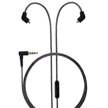 Load image into Gallery viewer, basn mmcx headphone earphone detachable replaceable cable with inline microphone suitable for basn bsinger bmaster metalen shure se215 se315 se425 se535