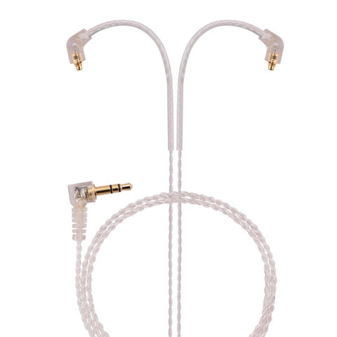 basn silver-plated mmcx headphone earphone detachable replaceable cable