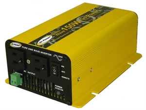 24 Volt 150 Watt Pure Sine Wave Power Inverter GP-SW150-24