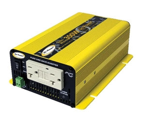 24 Volt 300 Watt Pure Sine Wave Power Inverter GP-SW300-24