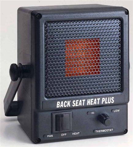 3000C / 4000 ThermTech Back Seat Heat Plus 12 Volt / 24 Volt DC Heater