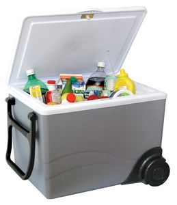 W-75 Koolatron Kool Wheeler 36 Quart 12 Volt Cooler/Warmer with Wheels W75