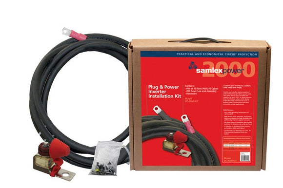 DC-2000-KIT Power Inverter Installation Kit