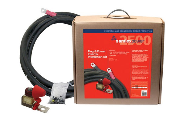 DC-2500-KIT Power Inverter Installation Kit