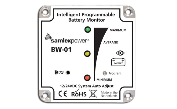 BW-01 Samlex America Battery Monitor