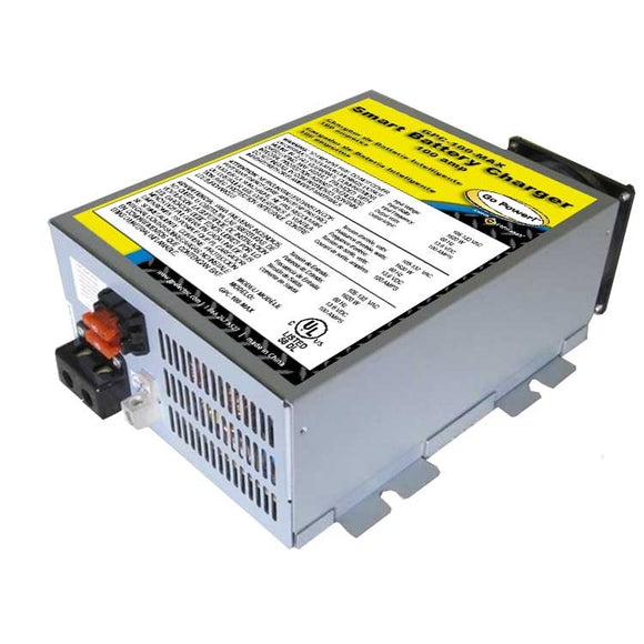 100 Amp Battery Charger 12 Volts 1 Battery Bank GPC-100-MAX