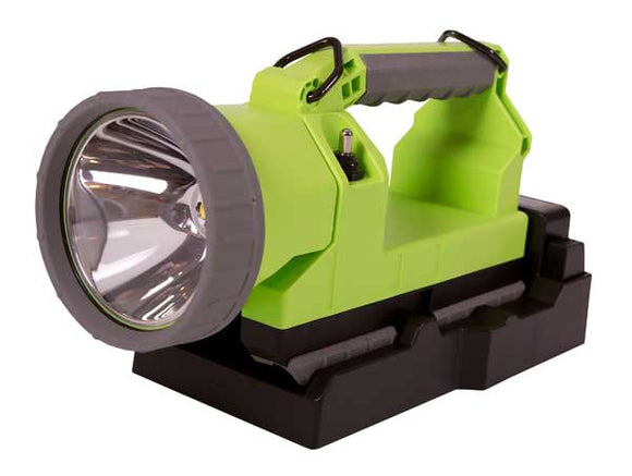 07712, 07712UTIL - Koehler Bright Star Lighthawk Vision 600 with Charger Adapter - Green