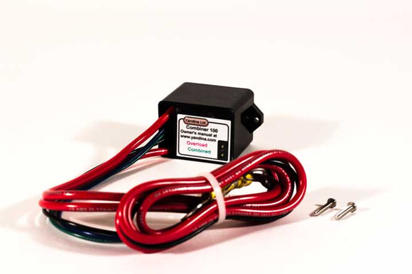 C100 Yandina Two Bank 75 Amp Battery Combiner 12 volt, 24 volt, Lead Acid, Lithium