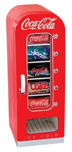 CVF18 Koolatron Coca Cola Retro Vending Fridge