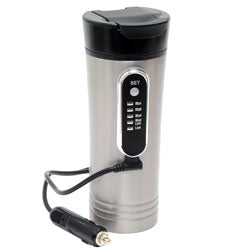 RP0719 Road Pro 12 Volt 15 ounce Premium Heated Travel Mug