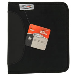 LB-004BK 6 Pack Road Pro 3-Ring Binder for Loose-Leaf Log Sheets, Black