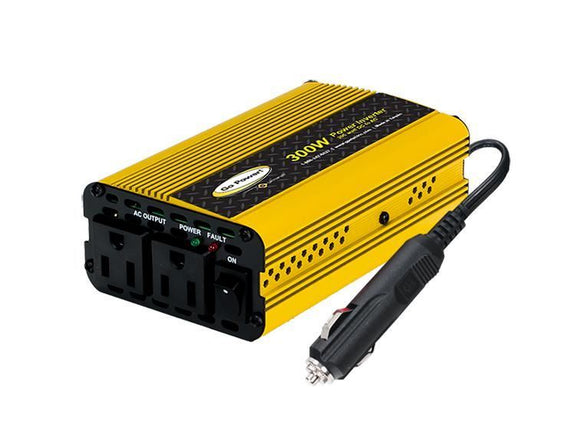 Go Power! 300 Watt Modified Sine Wave Power Inverter GP-300