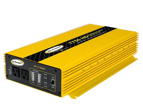 Go Power 1750 Watt Heavy Duty Modified Sine Wave Power Inverter GP-1750HD