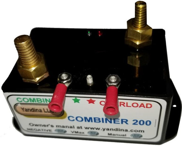 C200 Yandina Two Bank Battery Combiner, 175A