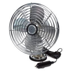 RP-1179 Road Pro 12 volt Heavy Duty Metal 2-Speed Fan